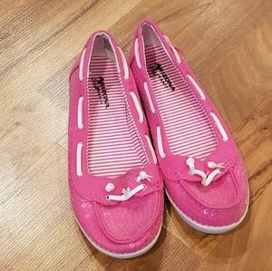 Arizona pink sequence shoes